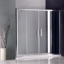 1500MM DOUBLE SLIDING SHOWER DOORS